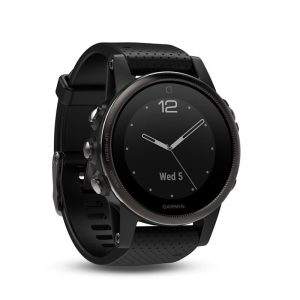 fēnix 5S Sapphire – Slate grey with black band