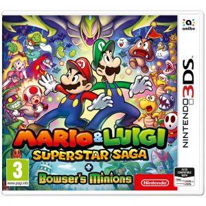 3DS Mario and Luigi: Superstar Saga + Bowsers Minions