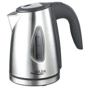 Adler Kettle AD 1203 Standard, Stainless steel, Stainless steel, 1630 W, 1 L, 360° rotational base