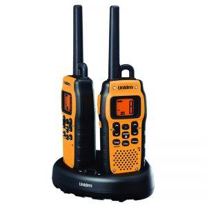 Raadiosaatja Uniden, veekindel, 2 tk 700mAh