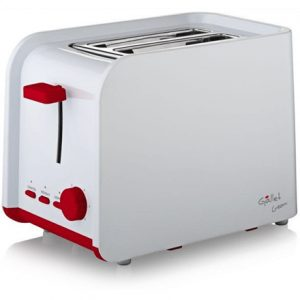 Gallet Toaster Creon GALGRI200 White, Plastic, 750 W, Number of slots 2, Number of power levels 6,