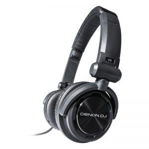 DJ Kõrvaklapid Denon DJ, üle kõrva, 40mm, must