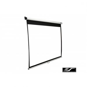 "Elite Screens Manual Series M100NWV1 Diagonal 100 "", 4:3, Viewable screen width (W) 203 cm, White"