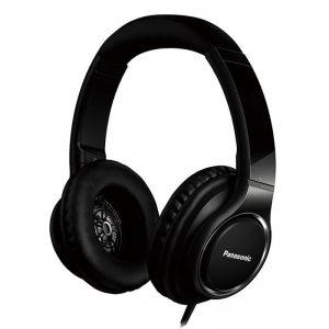 Juhtmega kõrvaklapid Panasonic, mikr, kõrvapealsed, must