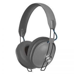 Juhtmevabad kõrvaklapid Panasonic, üle kõrva, retro, hall
