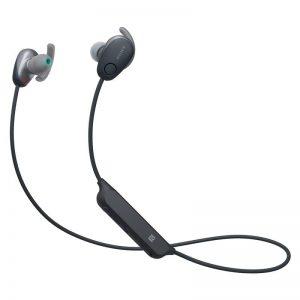 Juhtmevabad kõrvaklapid Sony, NC, kõrvasisesed, must