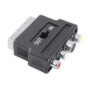 Adapter Hama  Scart-3RCA/SVide