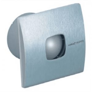 CATA Bath extraction  SILENTIS 10 INOX  Diameter 100 mm, Suction capacity 98 m³/h, Type of extraction Perimeter, Power consumption (max) 15 W, 37 dB, Inox
