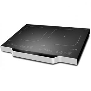 Caso Free standing table hob Wave 3500 Domino  Number of burners/cooking zones 2, Sensor Touch, Black, Induction