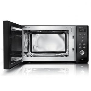 Caso Microwave oven MCG 30 CHEF  30 L, Grill, Convection, 900 W, Black, Free standing, Defrost function