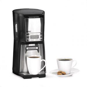 BEEM Coffee machine 1410SR Filter, 1030 W, Black/Stainless steel