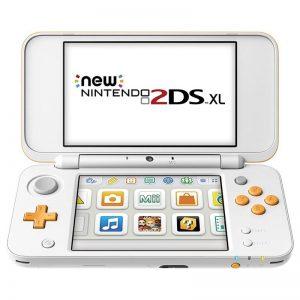Konsool Nintendo New 2DS XL valge/oranz