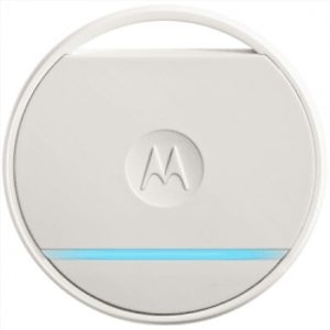 Motorola White, Connect Coin Tracker, Compatible with Apple iPhone 4s and above (iOS 9.0 above), Android KitKat v4.4.4 and above, Non rechargeable replaceable 220mAH lithium battery with CR2032 coin cell battery