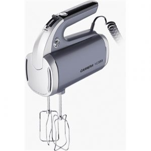 Carrera Hand mixer  No. 555 Grey, Hand mixer, 300 W, Number of speeds 4, Shaft material Stainless steel,