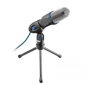 Mikrofon Trust MICO, 3,5mm+USB adapter, must