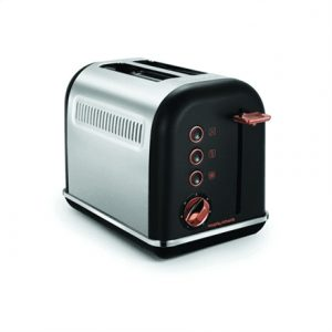 Morphy richards Toaster 222016 Accents Rose gold/black, Stainless steel, plastic, Number of slots 2, Number of power levels 7,