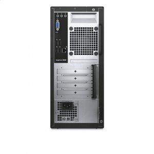 Dell Inspiron 3668 Desktop, Tower, Intel Core i5, i5-7400, Internal memory 8 GB, DDR4, SSD 128 GB, HDD 1000 GB, NVIDIA GeForce 1030, DVDRW Optical Drive, Keyboard language English, Windows 10 Home, Warranty 36 month(s),