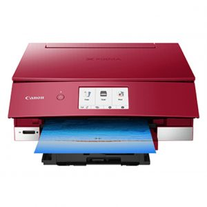 Canon Multifunctional printer Pixma TS8250 Colour, Inkjet, All-in-One, A4, Wi-Fi, Red