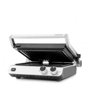 Gastroback 42537 Stainless steel/Black, 2000 W, 25 x 30 cm, Electric Grill