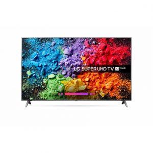 LG 49SK8000PLB 49″ (123 cm), Smart TV, Super UHD LED, 3840 x 2160 pixels, Wi-Fi, DVB-T2/C/S2, Dark metalic