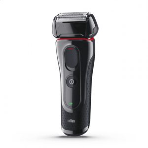 Braun Shaver 5030s Wet use, Rechargeable, Nose trimmer included, Charging time 1 h, Lithium Ion, Battery powered, Number of shaver heads/blades 1, Black