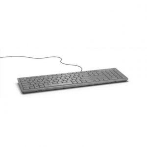Dell KB216 Multimedia, Wired, Keyboard layout EN, Grey, English, Numeric keypad