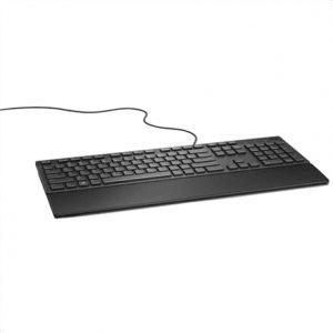 Dell KB216 Multimedia, Wired, Keyboard layout EN, English, Black, Numeric keypad