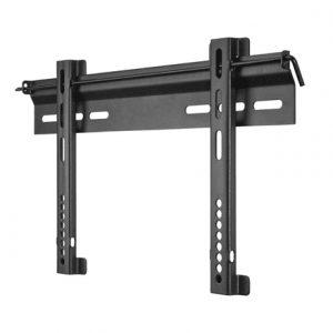 "Goobay TV EasyFix ultraslim L – ultra low-profile wall-mount bracket 63473 Wall Mount, 58-147 "", Maximum weight (capacity) 45 kg, Black"