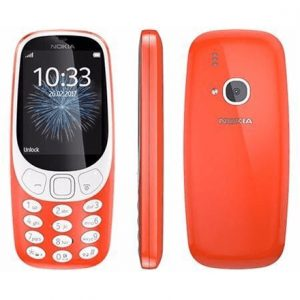 "Nokia 3310 (2017) Red, 2.4 "", TFT, 240 x 320 pixels, 16 MB, Dual SIM, Micro-SIM, Bluetooth, 3.0, USB version microUSB 2.0, Built-in camera, Main camera 2 MP, 1200 mAh"