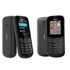 "Nokia 130 (2017) Black, 1.8 "", QQVGA, 120 x 160 pixels, 4 MB, 8 MB, Dual SIM, Mini-SIM, Bluetooth, 3.0, USB version microUSB 2.0, Built-in camera, Main camera 0.3 MP, 1020 mAh"