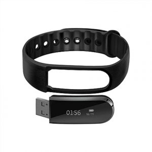 Acme Activity tracker HR ACT202 OLED, Black, Bluetooth, Heart rate monitor, Touchscreen, Built-in pedometer