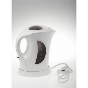 Adler AD 03 Standard kettle, Plastic, White, 900 W, 1 L,