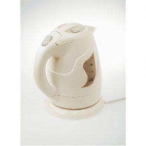 Adler Kettle AD 08 b Standard, Plastic, Beige, 850 W, 360° rotational base, 1 L