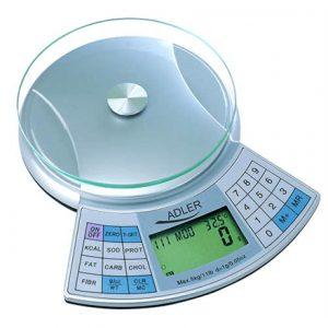 Adler AD 3133 Maximum weight (capacity) 5 kg, Metallic
