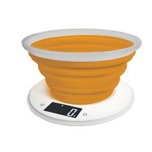 Adler Kitchen scale AD 3153o Maximum weight (capacity) 5 kg, Graduation 1 g, Display type LCD, Orange