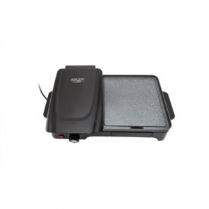 Adler Electric Grill AD 6608 Black, 2200 W, Electric