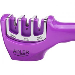 Adler AD 6710  Knife Sharpener, Material Plastic, Purple