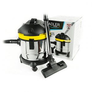 Adler Vacuum cleaner which can collect water AD 7022 Warranty 24 month(s), Bagless, Silver/Black/Yellow, 1500 W,