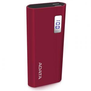 ADATA Power Bank P12500D Rechargeable Lithium-ion battery, Dual USB ports
