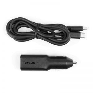 Autolaadija Targus USB-C + juhe, 45W