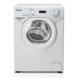 Candy Washing machine AQUA 1042D1-S Front loading, Washing capacity 4 kg, 1000 RPM, A+, Depth 46.3 cm, Width 51 cm, White, LED, Display