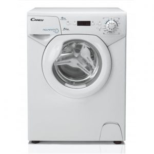 Candy Washing machine AQUA 1142 D1 Front loading, Washing capacity 4 kg, 1100 RPM, A+, Depth 44 cm, Width 51 cm, White, Display, LED