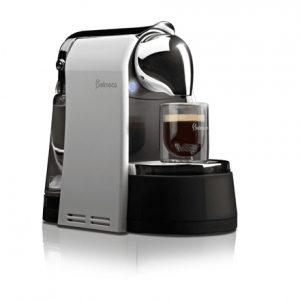Belmoca B-100 Pump pressure 19 bar, Capsule coffee machine, 1450  W, Black/Silver