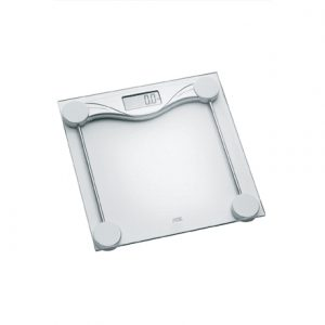 ADE Bathroom Scale BE 1510 Olivia  Maximum weight (capacity) 180 kg, Accuracy 100 g, Multiple user(s), Transparent