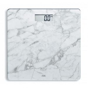 ADE Bathroom Scale BE 1711 AURORA Maximum weight (capacity) 180 kg, Accuracy 100 g, Multiple user(s), White