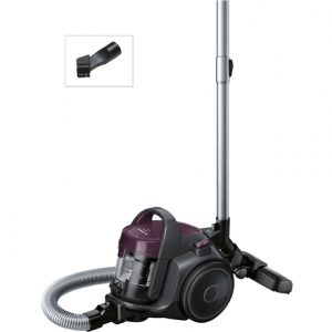 Bosch MoveOn Mini Vacuum cleaner BGC05AAA1 Bagless, Purple, 700 W, 1.5 L, A, A, D, A, 78 dB,