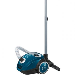Bosch MoveOn Mini Vacuum cleaner BGL25MON4 Bagged, Laguna Blue, 600 W, 3.5 L, A, A, D, B, 80 dB,