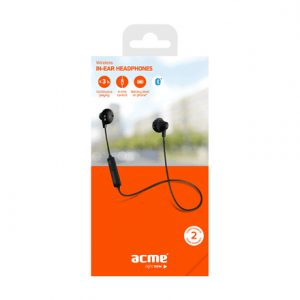 Acme BH102 Bluetooth, Black, Built-in microphone