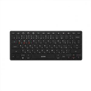 Acme Right Now  BK03 Portable Bluetooth Keyboard, Bluetooth® v3.0, Class 2, Keyboard layout EN/LT/RU, Wireless, No, Wireless connection Yes, 305 g, Bluetooth, Black