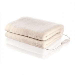 Electrical underblanket Tristar BW-4754 Number of heating levels 2, Number of persons 2, Washable, Synthetic, Wool, White